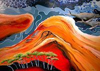 Thomas-Suske-Landschaft-See-Meer-Tiere-Wasser-Moderne-Naturalismus