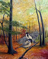 Thomas-Suske-Landschaft-Herbst-Tiere-Luft-Moderne-Naturalismus