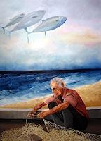 Thomas-Suske-Landschaft-Strand-Menschen-Mann-Moderne-Avantgarde-Surrealismus
