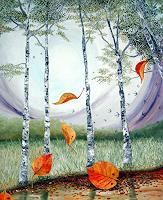 Thomas-Suske-Landschaft-Herbst-Pflanzen-Baeume-Moderne-Naturalismus