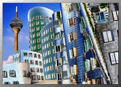 Henning O., Düsseldorfsilver, Architektur, Wohnen: Stadt, Pop-Art, Expressionismus