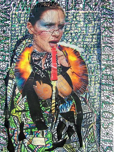 Man Lamy, ohne titel, Diverses, Diverses, Aktionskunst, Abstrakter Expressionismus