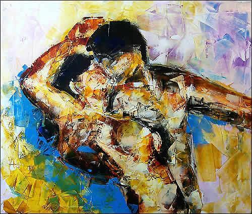 Cecilia Betancourt, La Danza, Expressionismus, Moderne