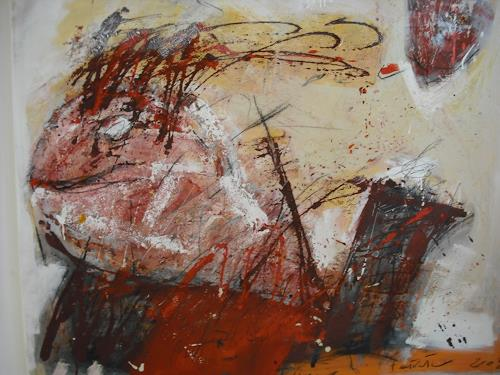 Peter Feichter, Fische isse nixe fertig!, Abstraktes, Abstrakter Expressionismus