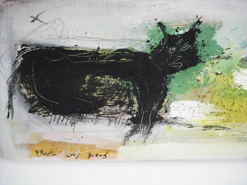 Peter Feichter, ich habe angst, Abstraktes, Abstrakter Expressionismus