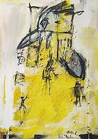 Peter-Feichter-Tiere-Luft-Diverse-Menschen-Moderne-Expressionismus-Abstrakter-Expressionismus