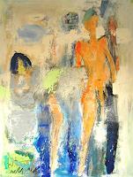 Peter-Feichter-Abstraktes-Menschen-Portraet-Gegenwartskunst--Neo-Expressionismus