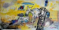 Peter-Feichter-Abstraktes-Diverses-Gegenwartskunst--Neo-Expressionismus