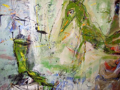 Peter Feichter, Specht, Abstraktes, Abstrakter Expressionismus