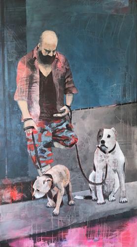 Petra Seibert, Portobello, Menschen, Tiere, Gegenwartskunst