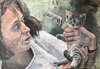 Petra-Seibert-Menschen-Tiere-Gegenwartskunst-Gegenwartskunst