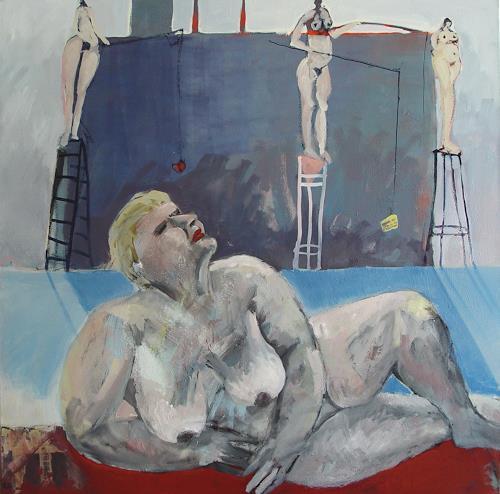 Petra Seibert, Süße Verführung, Menschen: Frau, Gesellschaft, Gegenwartskunst, Abstrakter Expressionismus