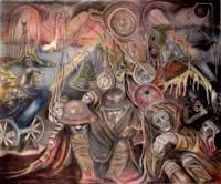 Rudolf-Lehmann-Krieg-Gefuehle-Aggression-Gegenwartskunst--Pluralismus
