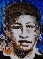 Rudolf-Lehmann-Menschen-Portraet-Diverse-Gefuehle-Gegenwartskunst--Neo-Expressionismus