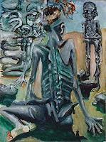 Rudolf-Lehmann-Gefuehle-Depression-Essen-Gegenwartskunst--Neo-Expressionismus