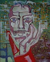 Rudolf-Lehmann-Mythologie-Sport-Gegenwartskunst--Neo-Expressionismus
