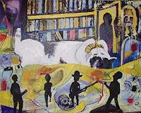 Rudolf-Lehmann-Gefuehle-Freude-Gefuehle-Geborgenheit-Gegenwartskunst--Neo-Expressionismus