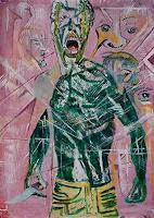 Rudolf-Lehmann-Menschen-Mann-Gefuehle-Aggression-Gegenwartskunst--Neo-Expressionismus