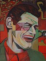 Rudolf-Lehmann-Musik-Musiker-Gefuehle-Freude-Gegenwartskunst--Neo-Expressionismus
