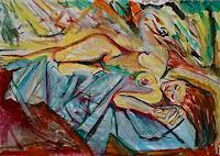 Rudolf-Lehmann-Mythologie-Symbol-Gegenwartskunst--Neo-Expressionismus