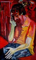 Rudolf-Lehmann-Menschen-Mann-Gefuehle-Depression-Gegenwartskunst-Neo-Expressionismus