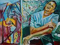Rudolf-Lehmann-Menschen-Mann-Diverse-Gefuehle-Gegenwartskunst-Neo-Expressionismus