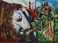 Rudolf-Lehmann-Menschen-Mann-Diverse-Gefuehle-Gegenwartskunst--Neo-Expressionismus