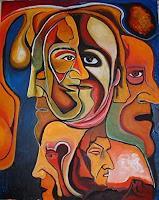 Rudolf-Lehmann-Menschen-Gesichter-Gegenwartskunst--Neo-Expressionismus