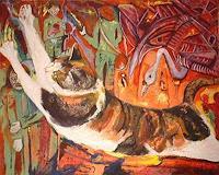 Rudolf-Lehmann-Bewegung-Diverse-Gefuehle-Gegenwartskunst--Neo-Expressionismus