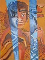 Rudolf-Lehmann-Arbeitswelt-Menschen-Kinder-Gegenwartskunst--Neo-Expressionismus