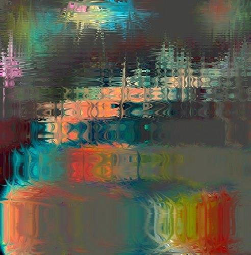 Rudolf Lehmann, O/T, Abstraktes, Fantasie, Gegenwartskunst, Expressionismus