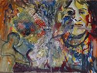 Rudolf-Lehmann-Arbeitswelt-Bewegung-Gegenwartskunst--Neo-Expressionismus
