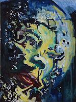Rudolf-Lehmann-Menschen-Portraet-Menschen-Mann-Gegenwartskunst-Neo-Expressionismus