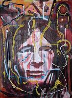 Rudolf-Lehmann-Diverse-Gefuehle-Menschen-Portraet-Gegenwartskunst--Neo-Expressionismus