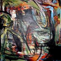 Rudolf-Lehmann-Gefuehle-Aggression-Abstraktes-Gegenwartskunst--Neo-Expressionismus