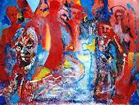 Rudolf-Lehmann-Abstraktes-Fantasie-Gegenwartskunst--Neo-Expressionismus