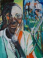 Rudolf-Lehmann-Menschen-Frau-Gefuehle-Depression-Gegenwartskunst--Neo-Expressionismus