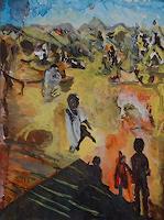 Rudolf-Lehmann-Essen-Menschen-Kinder-Gegenwartskunst--Neo-Expressionismus