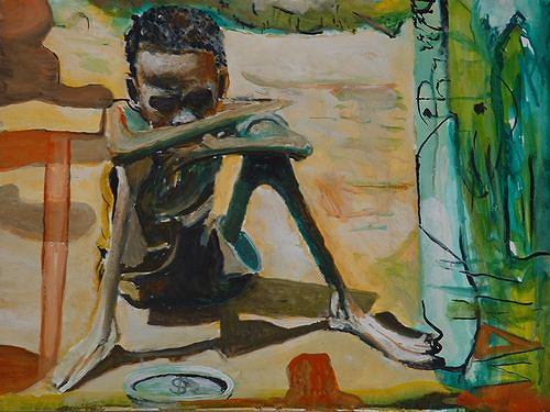 Rudolf Lehmann, Armut, Essen, Tod/Krankheit, Neo-Expressionismus