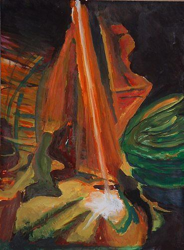 Rudolf Lehmann, Licht, Abstraktes, Natur: Diverse, Neo-Expressionismus