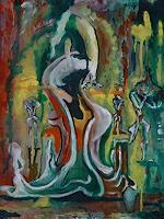 Rudolf-Lehmann-Abstraktes-Bewegung-Gegenwartskunst--Neo-Expressionismus