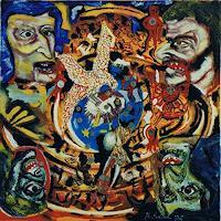 Rudolf-Lehmann-Menschen-Gruppe-Gegenwartskunst--Pluralismus