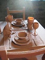 M. Radhoff-Troll, African Dinner Detail