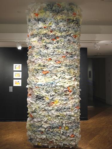 Monika Radhoff-Troll, WaPo Carpet, Gesellschaft, Symbol, Abstrakter Expressionismus