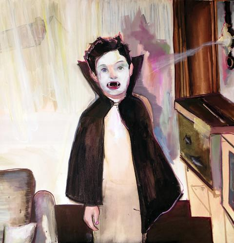 Michael Ebel, Vampir, Menschen: Kinder, Menschen: Porträt, Abstrakte Kunst