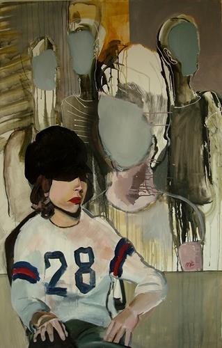 Michael Ebel, 28, Menschen: Frau, Menschen: Gesichter, Abstrakte Kunst, Abstrakter Expressionismus