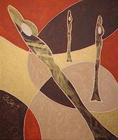 Barbara-Knuth-Diverse-Erotik-Moderne-Abstrakte-Kunst