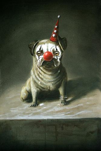 Lilie, Harlekin, Tiere: Land, Karneval, Realismus, Abstrakter Expressionismus