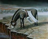 Lilie-Fantasie-Tiere-Land-Neuzeit-Realismus
