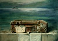 Lilie-Fantasie-Stilleben-Neuzeit-Realismus